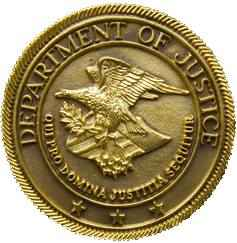 Seal of the US Department of Justice