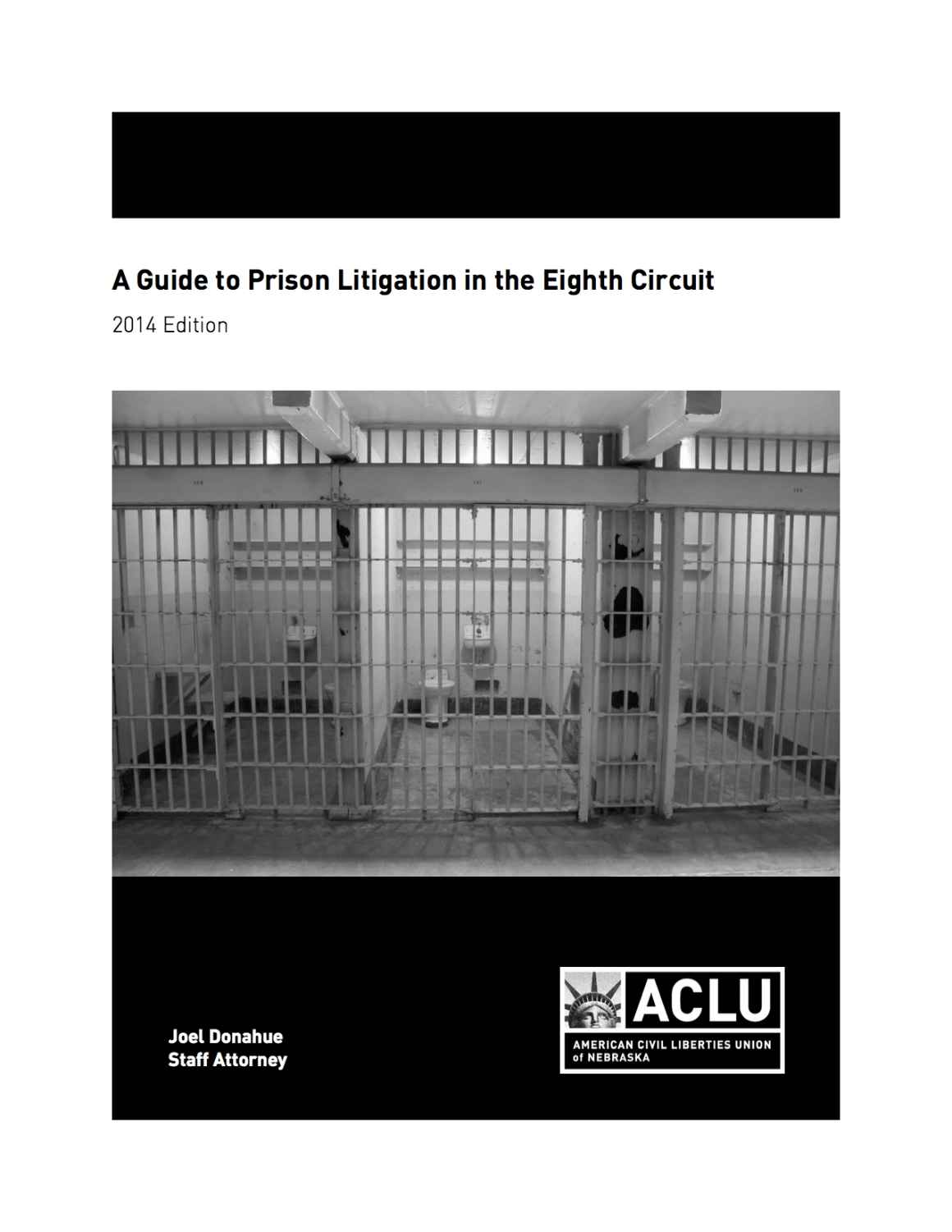 A Guide to Prison Litigation in the Eighth Circuit Cover