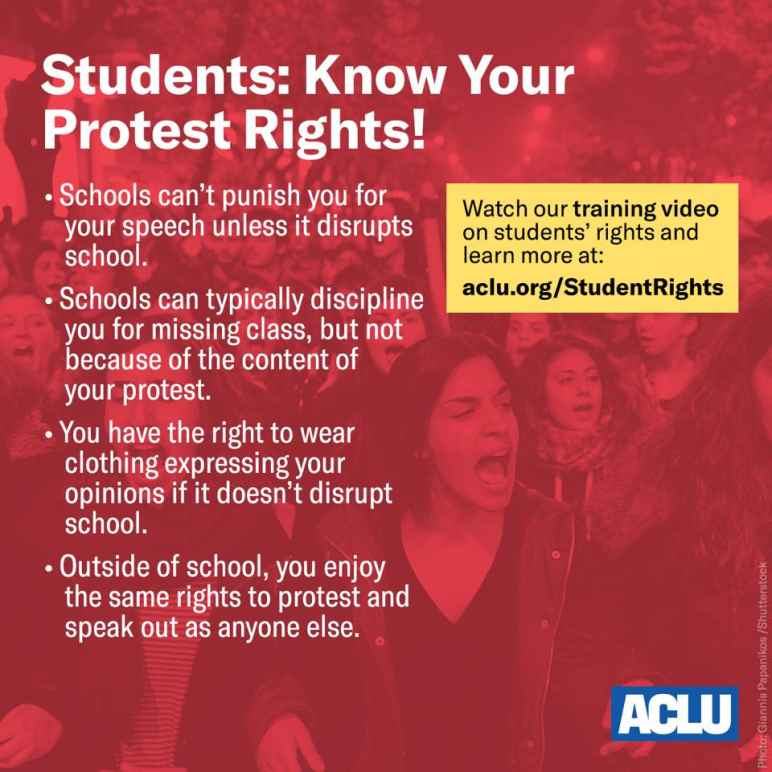 Student Rights Square - aclu.org/studentrights
