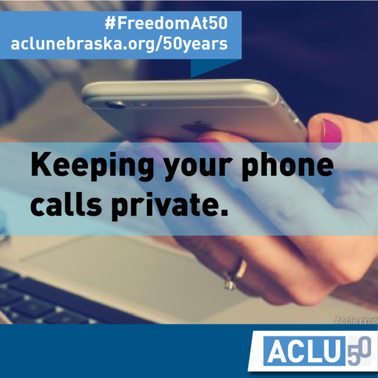Text: Keeping your phone calls private