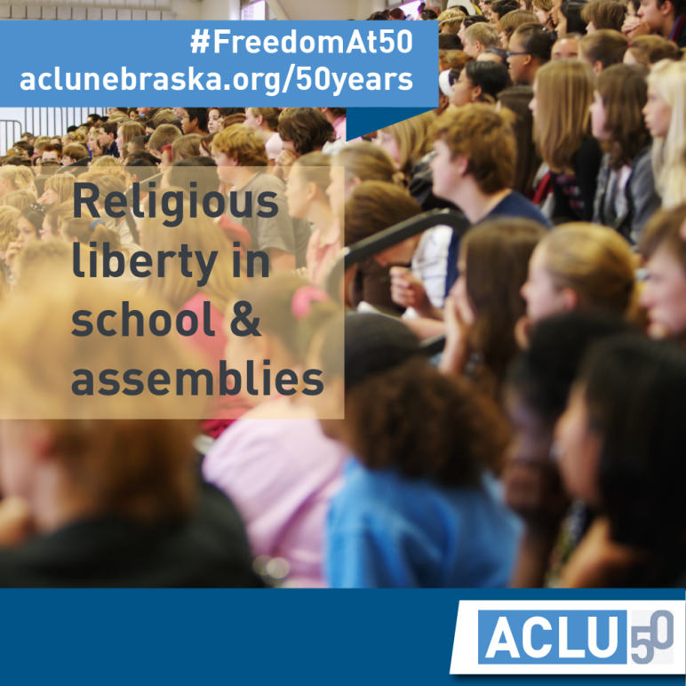 TBT-Religious Liberty in School and Assemblies