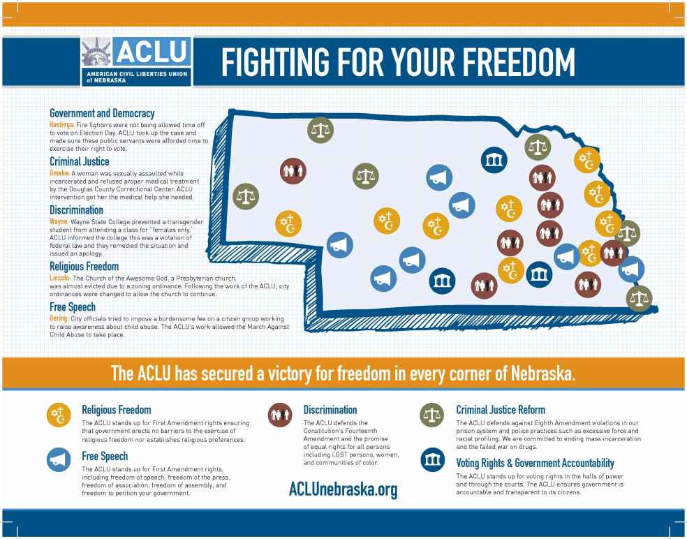 map of aclu victories