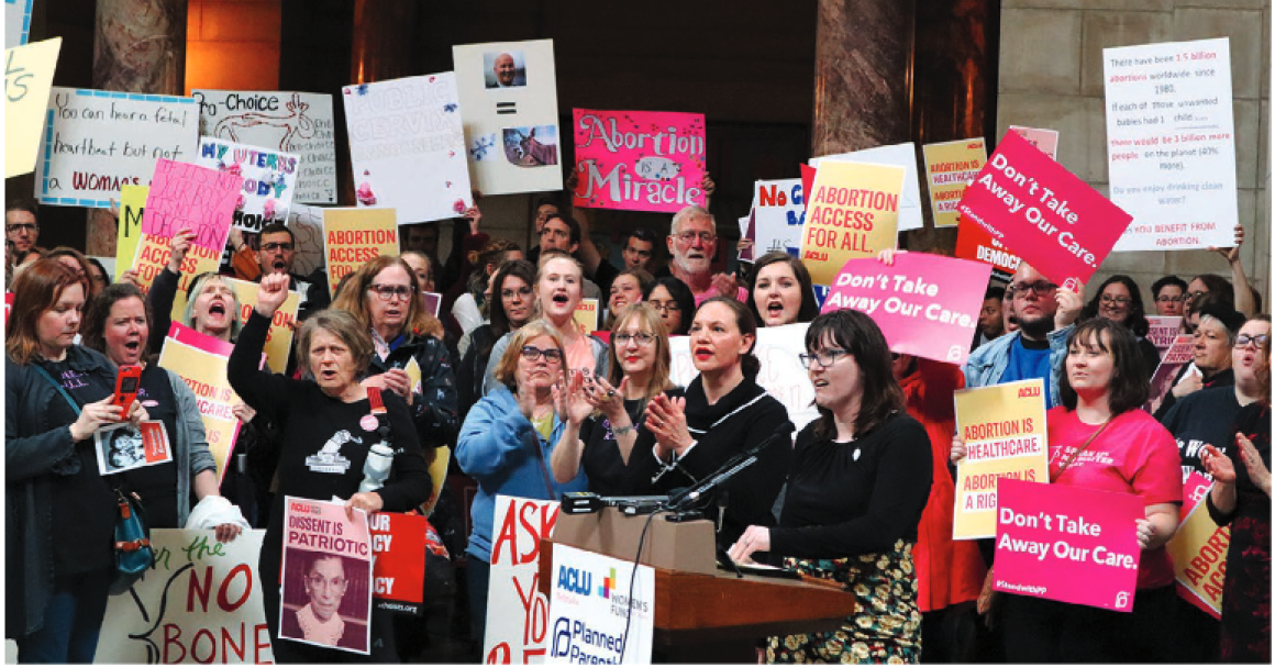 Photo: Reproductive Rights Rally in the Capitol Rotunda
