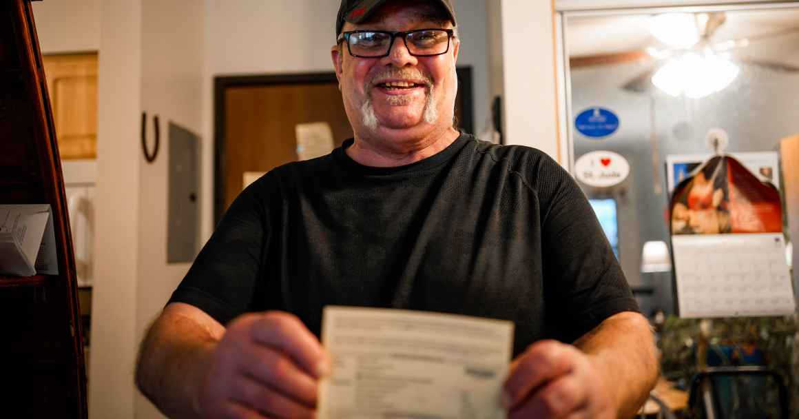 Walter Wolff, of Omaha, reached out to the ACLU for assistance after he was incorrectly told he could not vote.